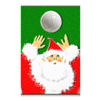 VOLLEY JOLLY CHRISTMAS! PERSONALIZED STATIONERY
