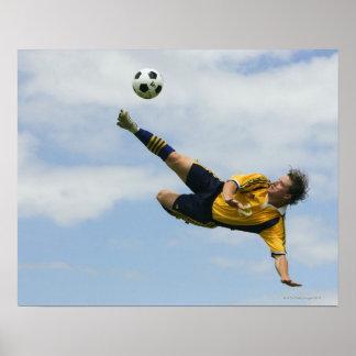 Volley kick 2 print