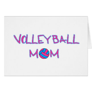 Volley Mom Card