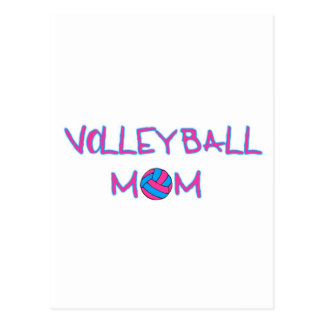 Volley Mom Postcard
