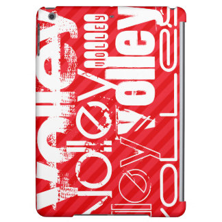 Volley; Scarlet Red Stripes Case For iPad Air