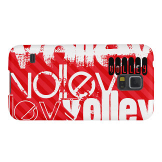 Volley; Scarlet Red Stripes Galaxy S5 Case
