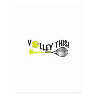 VOLLEY THIS POSTCARD