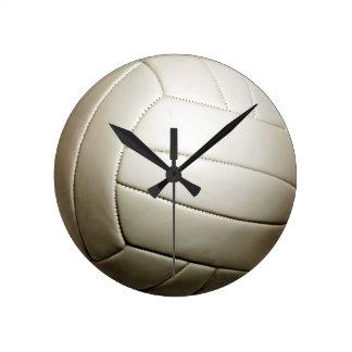 """Volleyball 10.75"""" round clock"""