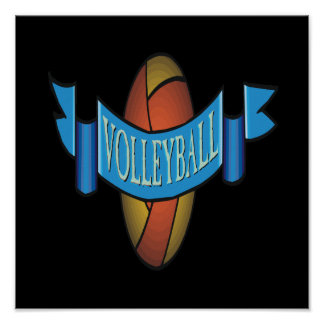 Volleyball 10 poster