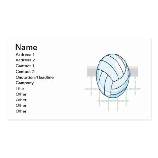 Volleyball 11 Double-Sided standard business cards (Pack of 100)