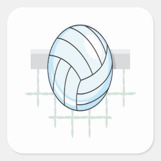 Volleyball 11 square sticker