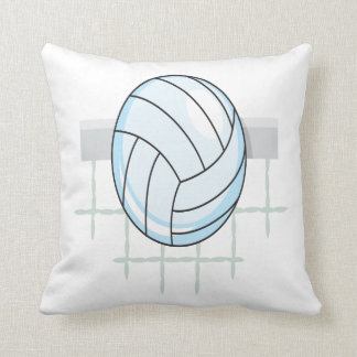 Volleyball 11 throw pillow