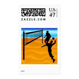 VOLLEYBALL 2015 TEMPLATES POSTAGE