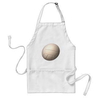 Volleyball 2 adult apron