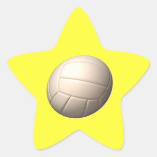 Volleyball 2 star sticker