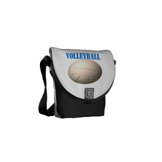 Volleyball 4 courier bag