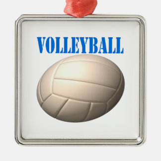 Volleyball 4 christmas tree ornaments