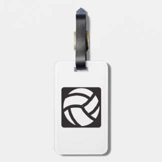 Volleyball 6 bag tag