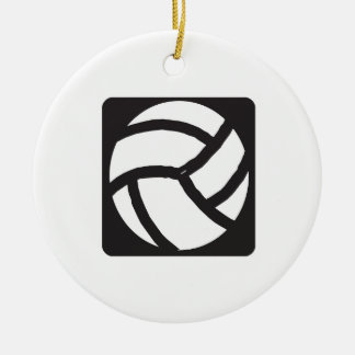 Volleyball 6 christmas ornament