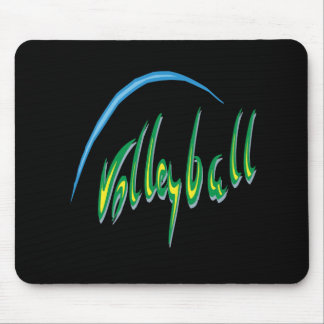 Volleyball 8 mouse pad