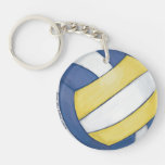Volleyball Acrylic Key Chains