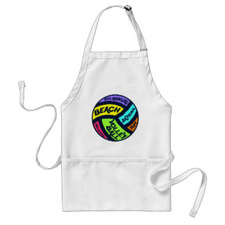 Volleyball Adult Apron