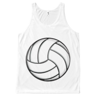 Volleyball All-Over-Print Tank Top