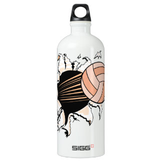 Volleyball Aluminum Water Bottle