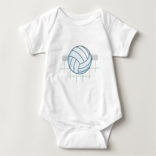 volleyball and net graphic t shirt