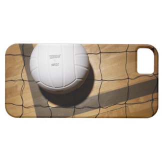 Volleyball and net on hardwood floor of iPhone SE/5/5s case