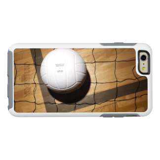 Volleyball and net on hardwood floor OtterBox iPhone 6/6s plus case