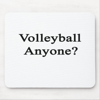 Volleyball Anyone? Mouse Pad