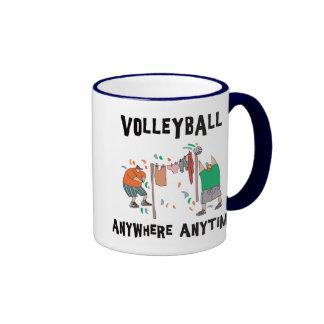 Volleyball AnyWhere Anytime Coffee Mug
