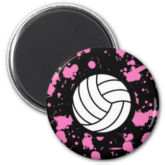 Volleyball Art Magnet