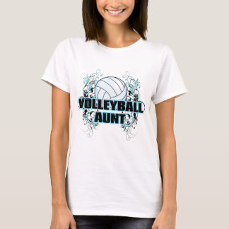 Volleyball Aunt (cross).png T-Shirt