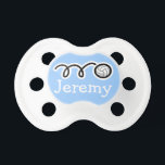 """Volleyball baby boy pacifier 