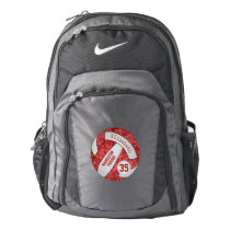 Volleyball backpack w custom player / school name
