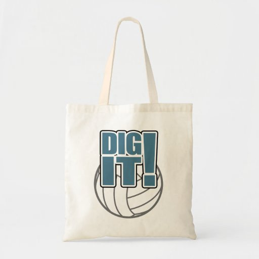 Volleyball Bag: Dig it!