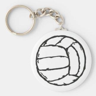 Volleyball Ball Key Chain