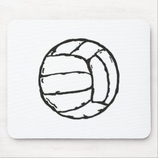 Volleyball Ball Mouse Pad