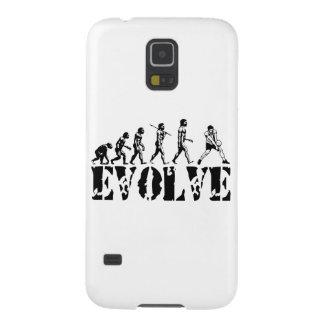 Volleyball Beach Player Evolution Sport Art Galaxy S5 Cover