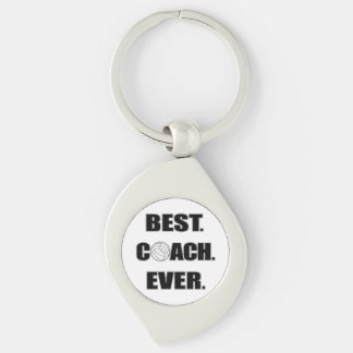 Volleyball Best Coach Ever Keychain