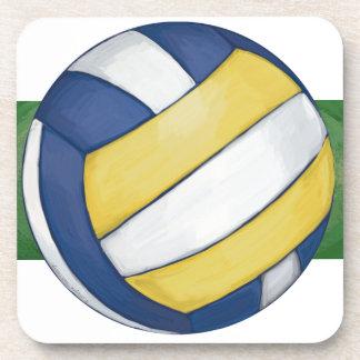 Volleyball Beverage Coaster