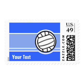 Volleyball; Blue Stamps