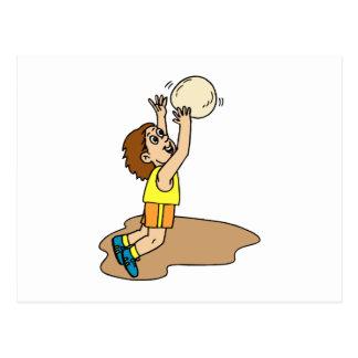 Volleyball Boy Fun Postcard