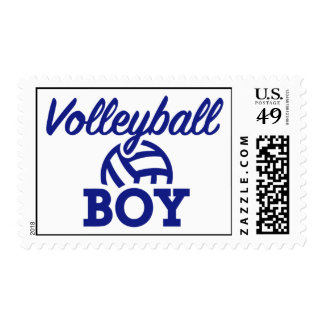 Volleyball boy postage