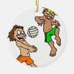 Volleyball Boys Ornament