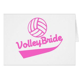 Volleyball Bridal Invitations