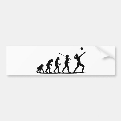 Volleyball Bumper Stickers