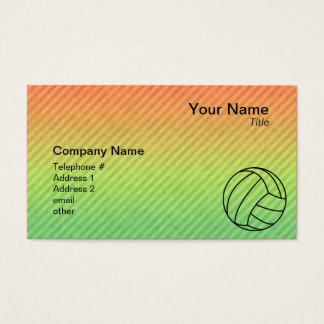 Volleyball; Business Card
