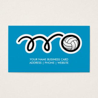 Volleyball business card design