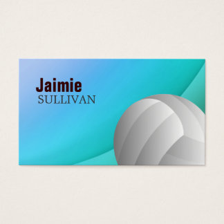 Volleyball Business Cards