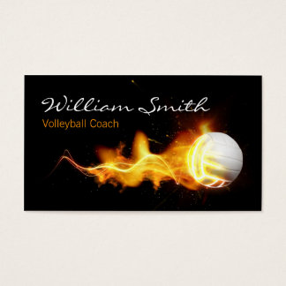 Volleyball Business Coach card