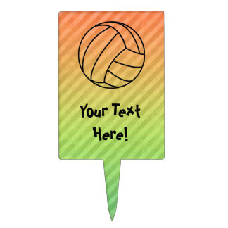 Volleyball; Cake Topper